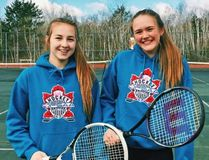 College Notre Dame's Mireille Kingsley and Kaitlyn Falvo have been selected as the SDSSAA athletes of the week following a stellar performance at the city tennis championships last week, where the duo combined to win the girls' doubles title. Supplied photo