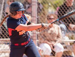 University of Detroit Mercy shortstop and Delhi native Courtney Gilbert was recently named Horizon League First Team all-star. (Photo courtesy University of Detroit Mercy Athletic Communications)