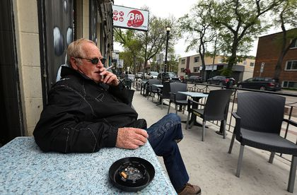 Smoking on a patio may soon be a thing of the past.`