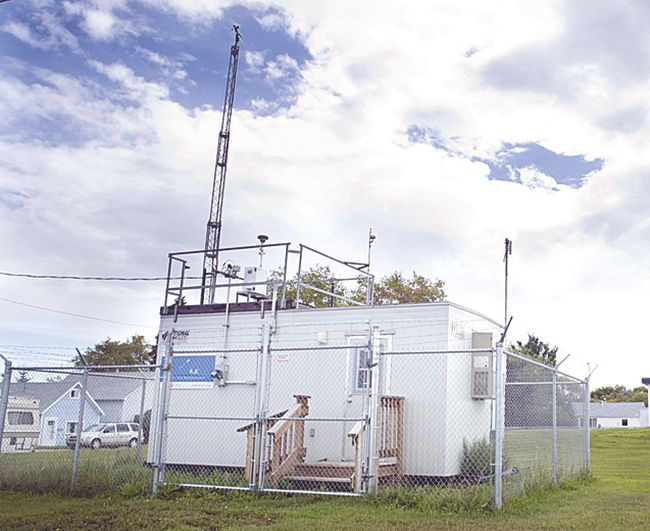 Fort Air Partnership operates several air quality monitoring stations throughout the region. Photo supplied.