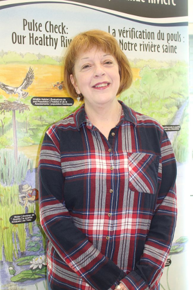 <p>Karen Douglass Cooper, communications officer with the St. Lawrence River Institute of Environmental Sciences, on Friday, May 19, 2017, in Cornwall, Ont. </p><p>