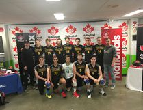 The Central Alberta U18 Kings volleyball team wrapped up their season at Nationals this past weekend. (Photo supplied)