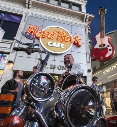 Outside the Hard Rock Cafe on Wednesday May 17, 2017. Craig Robertson/Toronto Sun/Postmedia Network