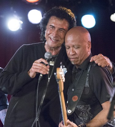 Andy Kim performs with the The Carpet Frogs on stage at the Hard Rock Cafe  Wednesday May 17, 2017. Craig Robertson/Toronto Sun/Postmedia Network