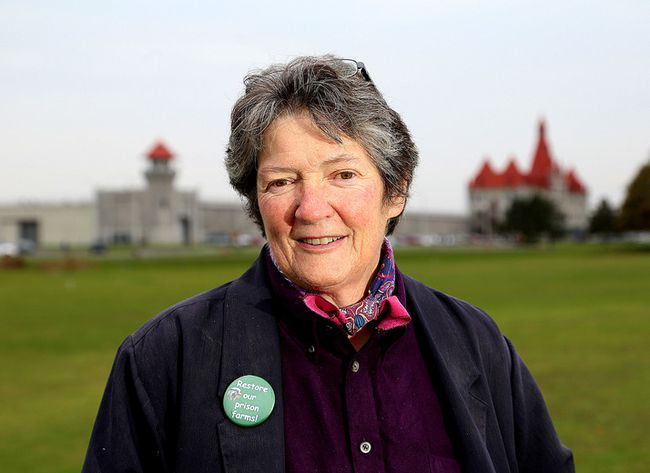 Dianne Dowling, a member of the Save Our Prison Farms group, will be among the speakers at a lecture series at Theological Hall at Queen's University this week. (Whig-Standard file photo)