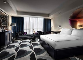 Bedrooms at the Bisha Hotel Toronto in downtown Toronto will have a sleek, stylish and urban feel. One of the hotel floors is being designed by rock star Lenny Kravitz. COURTESY THE BISHA