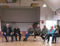 Thirty-plus residents of the Municipal District of Pincher Creek No. 9 chatted with their elected representatives during a Coffee with Council event in the Lundbreck Community Hall on May 16.