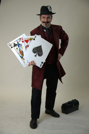 As the Amazing Corbin, St. Thomas resident Mike Fisher travels North America as a full-time magician. He's onstage in the coming London Fringe Festival. (Contributed Photo)