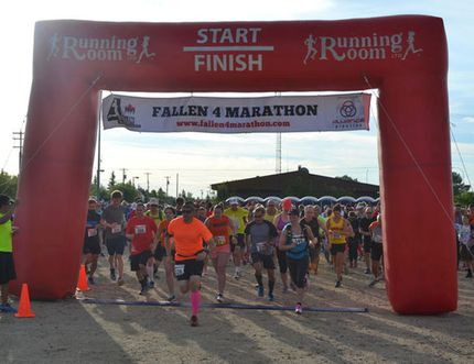 The Fallen 4 Marathon has been replaced by a new run taking place in Whitecourt on June 3 (File photo).