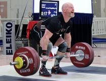 <p>The Cornwall Weightlifting Club's Thorin Gault, who has won a fifth consecutive title, at the Canadian Masters Weightlifting championship. </p><p> Handout/Cornwall Standard-Freeholder/Postmedia Network
