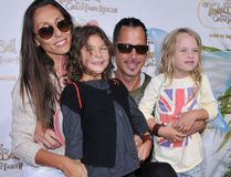 """Chris Cornell, his wife Vicky and their daughters attend The Disney/Pixar Picnic-In-The-Park World Premiere of 'Tinker Bell and the Great Fairy Rescue' at La Cienega park, Los Angeles, August 28, 2010. (<A HREF=""""http://www.wenn.com"""" TARGET=""""newwindow"""">WENN.COM</a>)"""