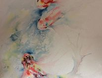 Watercolour painting 'The Messenger of Summer', by Mimi Mackie.Supplied