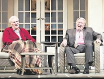 Norm Foster and David Nairn star in Jonas and Barry in the Home at Huron Country Playhouse II June 28 to July 15. (Hilary Gauld Camilleri, Special to Postmedia News)