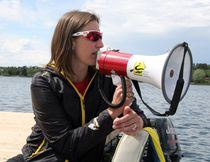 Team Manitoba has a new rowing head coach in two-time Olympian (2008, 2012) Janine Stephens for the 2017 Canada Summer Games. SHERI LAMB/Daily Miner and News/Postmedia Network
