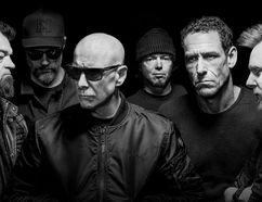 Hugh Dillon of The Headstones (the bald guy) is ready to hit the road again. SUBMITTED