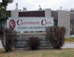 Caressant Care Nursing Home in Woodstock (MEGAN STACEY, Sentinel-Review)