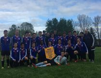 The St. Benedict Bears earned a split at the opening day of the OFSAA A boys soccer championships in Windsor on Thursday. Supplied photo