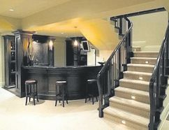 Finishing a basement can be an excellent way to add functionality.