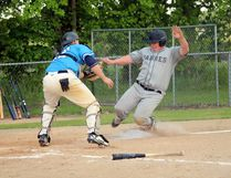 The Padres downed the Royals 11-1 Wednesday night at Republic Park in Portage.