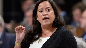 Minister of Justice and Attorney General Jody Wilson-Raybould responds to a question during question period in the House of Commons on Parliament Hill in Ottawa on Thursday, June 1, 2017. THE CANADIAN PRESS/Adrian Wyld
