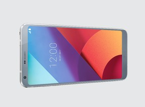 The LG G6 smartphone. (Supplied Photo)