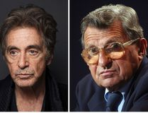 Pacino, left, will star as late Penn State football coach Joe Paterno in an upcoming HBO biopic directed by Barry Levinson. HBO says the film will focus on Paterno dealing with the fallout from the child sex abuse scandal involving his former assistant, Jerry Sandusky. (AP Photo/Victoria Will/, left, and Carolyn Kaster, File)