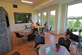 The new Wellspring Edmonton facility, which has been open for several months celebrated its official opening on Thursday in Edmonton, June 1, 2017. They've had close to 1,000 program visits from people facing cancer, their caregivers and families over the past five months. Ed Kaiser/Postmedia