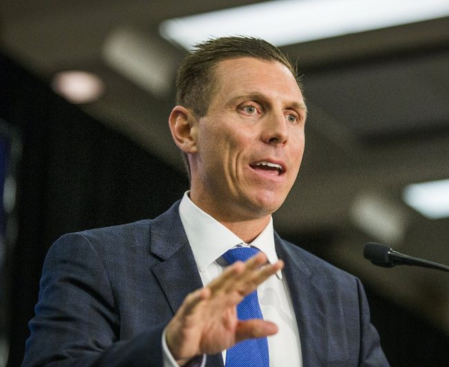Progressive Conservative Leader Patrick Brown is calling on Premier Kathleen Wynne to block an attempt by Hydro One to jack up distribution rates. (TORONTO SUN/FILES)