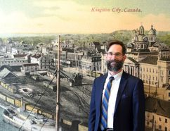 Paul Robertson, the curator for the City of Kingston. (Joseph Cattana/For the Whig-Standard)