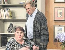 Susan Johnston Collins and Terry Barna star in the Port Stanley Festival Theatre production of Norm Foster's On a First Name Basis.