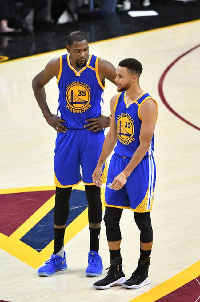Kevin Durant, Stephen Curry