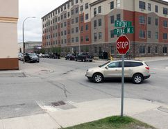 City council appears ready to approve the idea of a three-way stop intersection at Pine Street and Fifth Avenue to enable senior citizens and others to cross Pine Street at that location. This goes against the advice of a city engineer and a consultant's report, which said a formal pedestrian crosswalk is preferred.