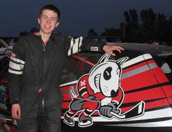 It was only fitting that a race car sponsored by the Niagara IceDogs and driven by Alex Riley ended a Merrittville Speedway program that included a best-appearing dog contest in victory lane. BERND FRANKE/Postmedia News