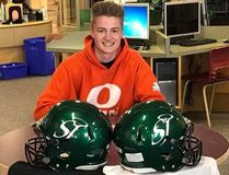 PHOTO SUPPLIED St. Joe's Celtics' Liam Johnstone (pictured) and Mathew Laurin signed with the Okanagan Sun and Edmonton Huskies, respectively.