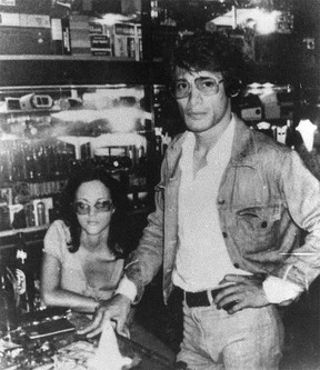 Notorious serial killer Charles Sobhraj, pictured with his muse, Quebecois woman Marie-Andree Leclerc, who is now deceased.