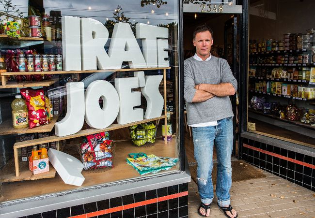 Mike Hallatt, the proprietor of Pirate Joe's on West 4th Ave. in Vancouver, B.C., Aug. 18, 2013.  (Carmine Marinelli/Vancouver 24hours File Photo)