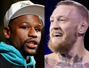August 26 could be the date of the McGregor/Mayweather boxing match.(Associated Press)