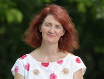 Writer Emma Donoghue talks about literature and other pursuits Thursday at Wolf Performance Hall. (Dave Chidley, The Canadian Press)