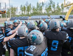 The Fort McMurray Monarchs took over sole possession of first place in the Alberta Football League, beating up on the Calgary Wolfpack while the Central Alberta Buccaneers teams had their perfect seasons disrupted by the Calgary Gators. Robert Murray/Fort McMurray Today/Postmedia Network
