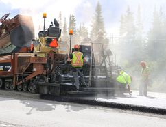 """Timmins city council has approved a $1.5-million contract for local roadwork in Timmins through Miller Paving. The contract which was half a million dollars cheaper than expected will allow for work on Pine Street South, McBride Street and several """"shave and pave"""" projects across the city. LEN GILLIS / The Daily Press / file photo"""
