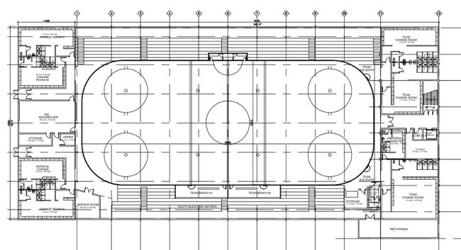 During the June 13 regular city council meeting, council upheld the Friends of the Traders request to hold off on making a decision regarding $13.2 million upgrades for the Jubilee Recreation Centre until after October's aquatics vote. Above are future expansion plans for the lower level of the JRC.
