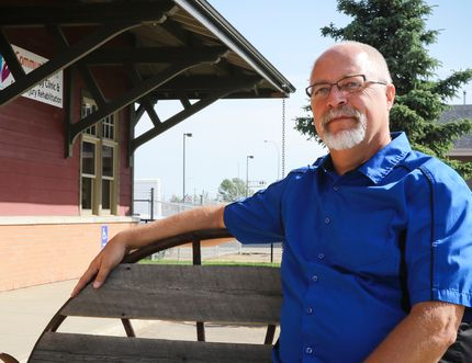Peter Bouwsema, pictured here in front of his business, PJB Design, announced last Thursday he will be running for the mayor's seat in the fall. (Ashli Barrett/Lacombe Globe)