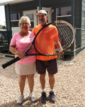 Penny and Bob Bishop will once again offer a tennis program for youth this summer at Steinhoff Park.