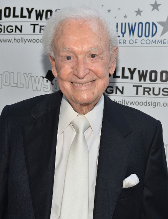 Bob Barker attends The Hollywood Chamber of Commerce & The Hollywood Sign Trust's 90th Celebration of the Hollywood Sign at Drai's Hollywood on September 19, 2013 in Hollywood, California. (Photo by Alberto E. Rodriguez/Getty Images)