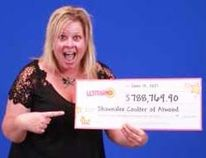 A new Jeep, and upgraded floors and a new kitchen await Atwood resident Shawnalee Coulter who realized she'd won $788.769 June 11 when she checked her LOTTARIO ticket at the Petrocan gas station/variety store in Port Elgin. She claimed her prize June 16 in Toronto.