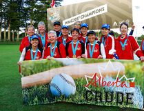 The Sherwood Park-based Alberta Crude 55+ ladies softball team had a strong finish in the recent World Masters Games in Auckland, New Zealand to capture gold in their division. Photo supplied