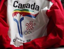 Olympic torch jacket