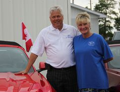 S.G.Wells Ford dealership turned 80 this year and owners Dave and Cynthia Cassell celebrated with a barbecue, live entertainment and lots of Mustangs. Lois Ann Baker/Cornwall Standard-Freeholder
