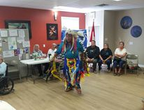 The Cold Lake Native Friendship Centre hosts annual activities for Aboriginal Day every year. Pictured here are performances from last year. Photo supplied.