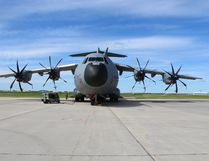 The French Air Force participated with a A400M this year at Maple Flag 50. The aircraft is relatively new and has participated in an exercise the size of Maple Flag for the first time. Photo by Mamta Lulla/Cold Lake Sun and Postmedia Network.